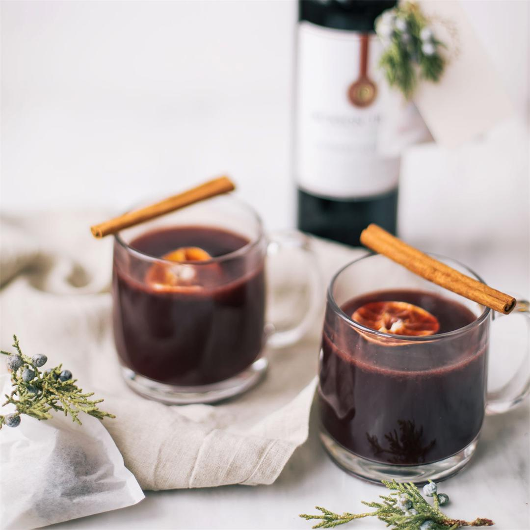 Slow Cooker Mulled Wine For The Holidays