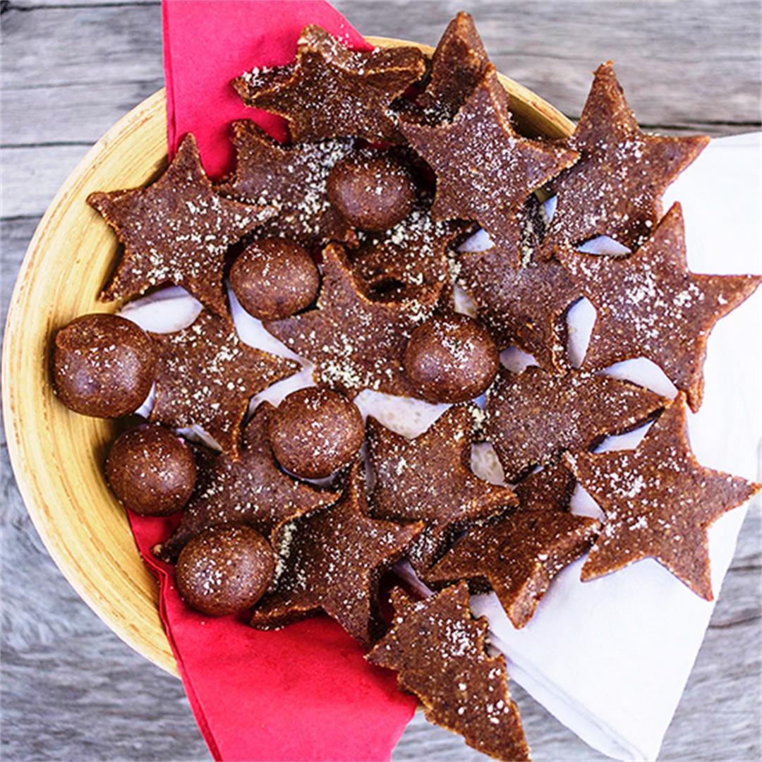 Paleo Gingerbread Cookie Bites
