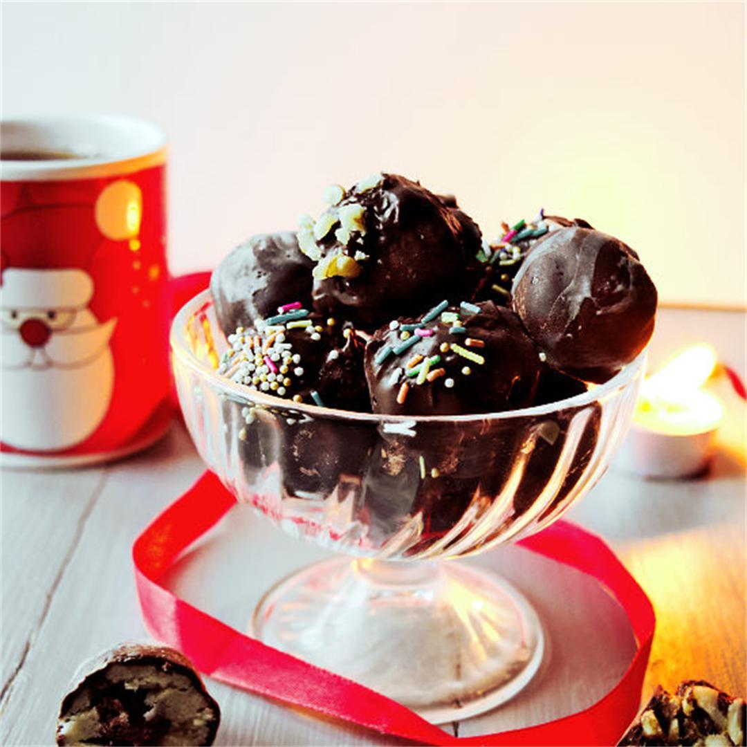 Easy Christmas recipes – Chocolate truffles 3 ways