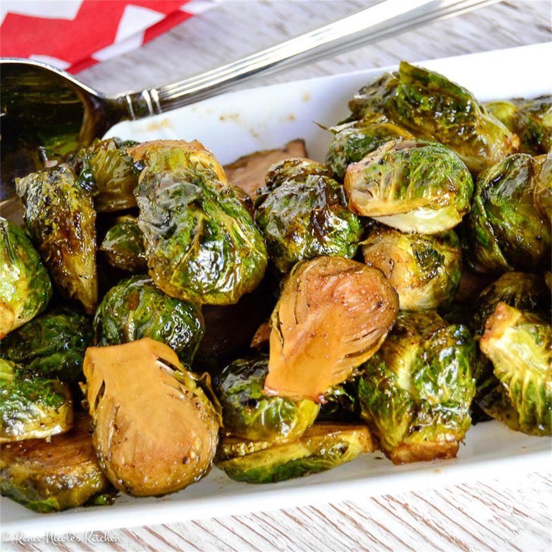 Garam Masala Brussels Sprouts