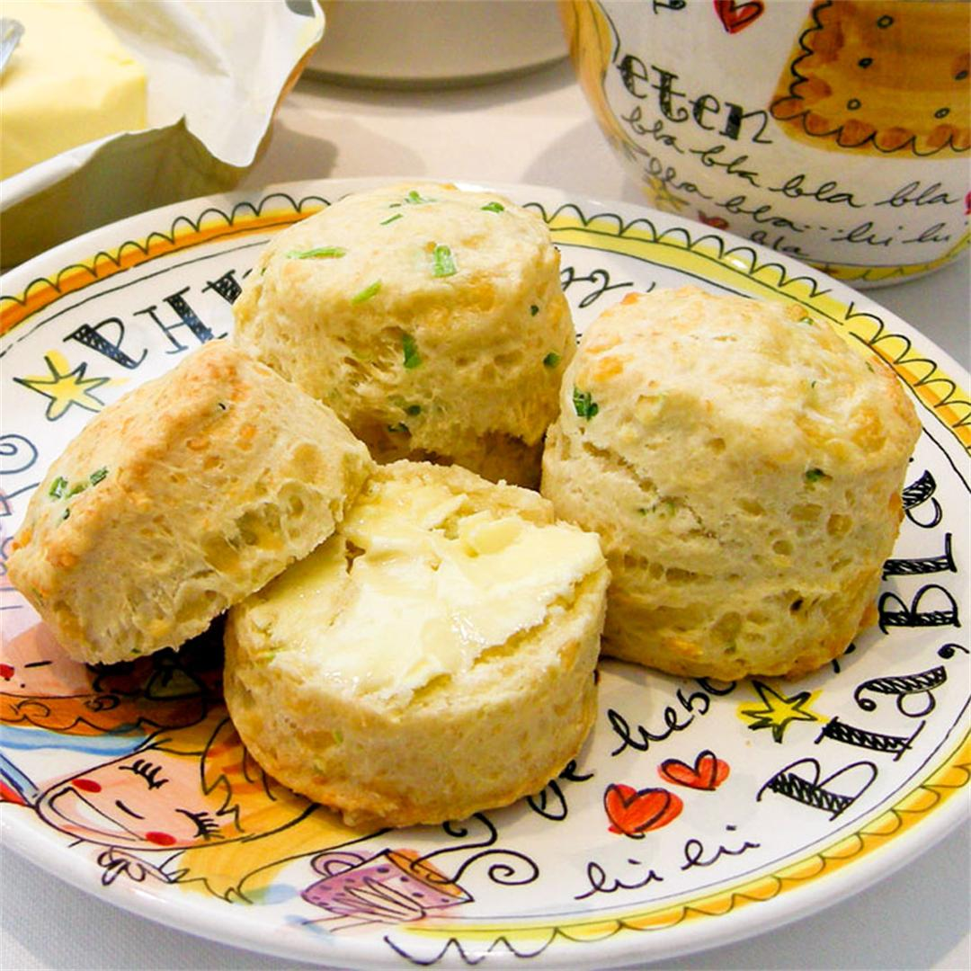 Nothing beats the smell of freshly baked cheese scones!