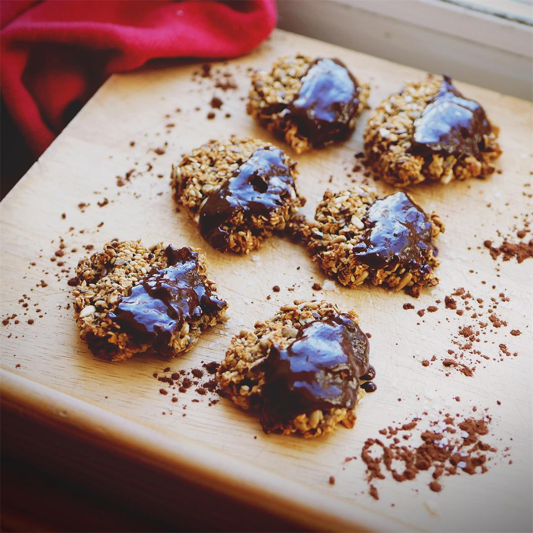 Ginger and Chocolate Cookies