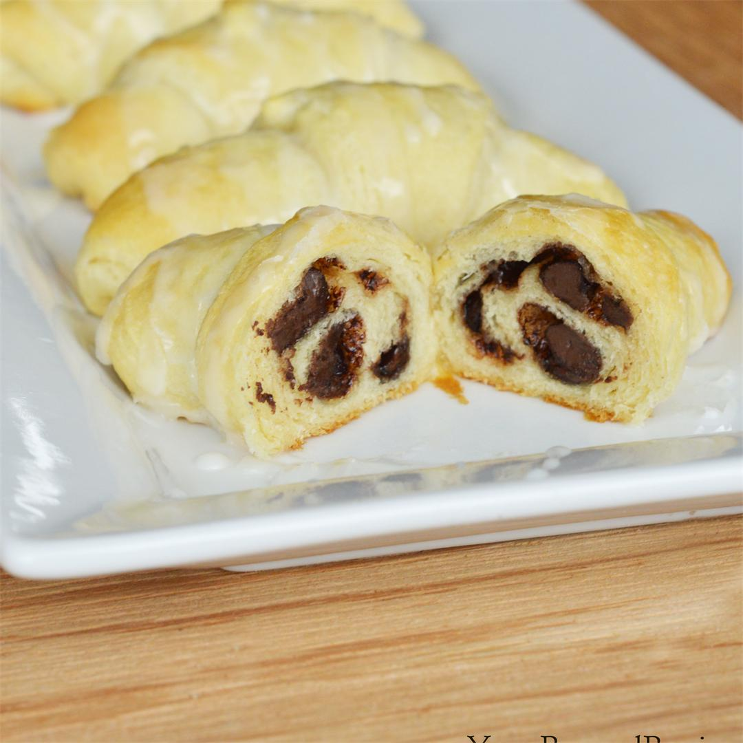 Chocolate Cookie Roll Ups