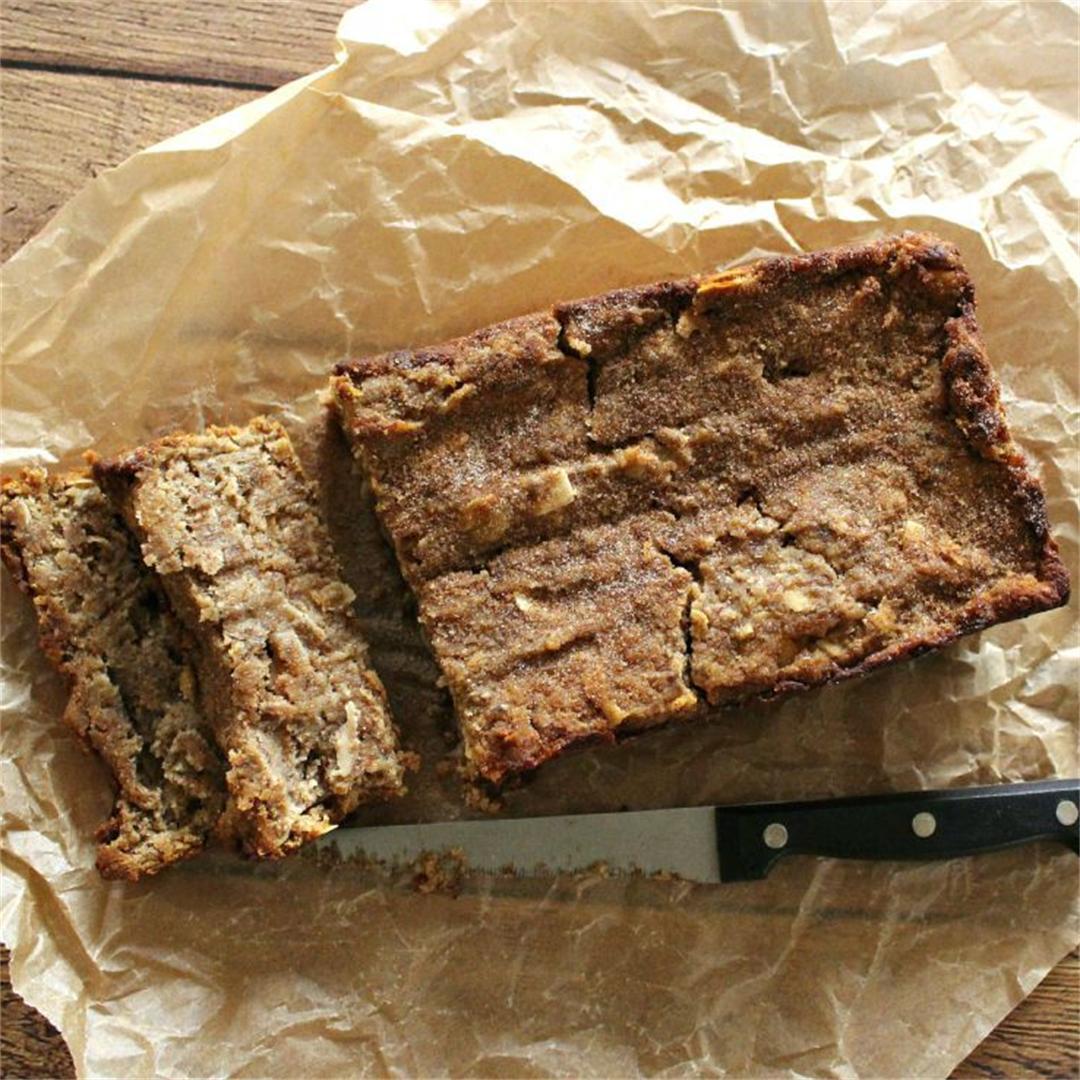 Easy Fresh Apple Loaf Cake