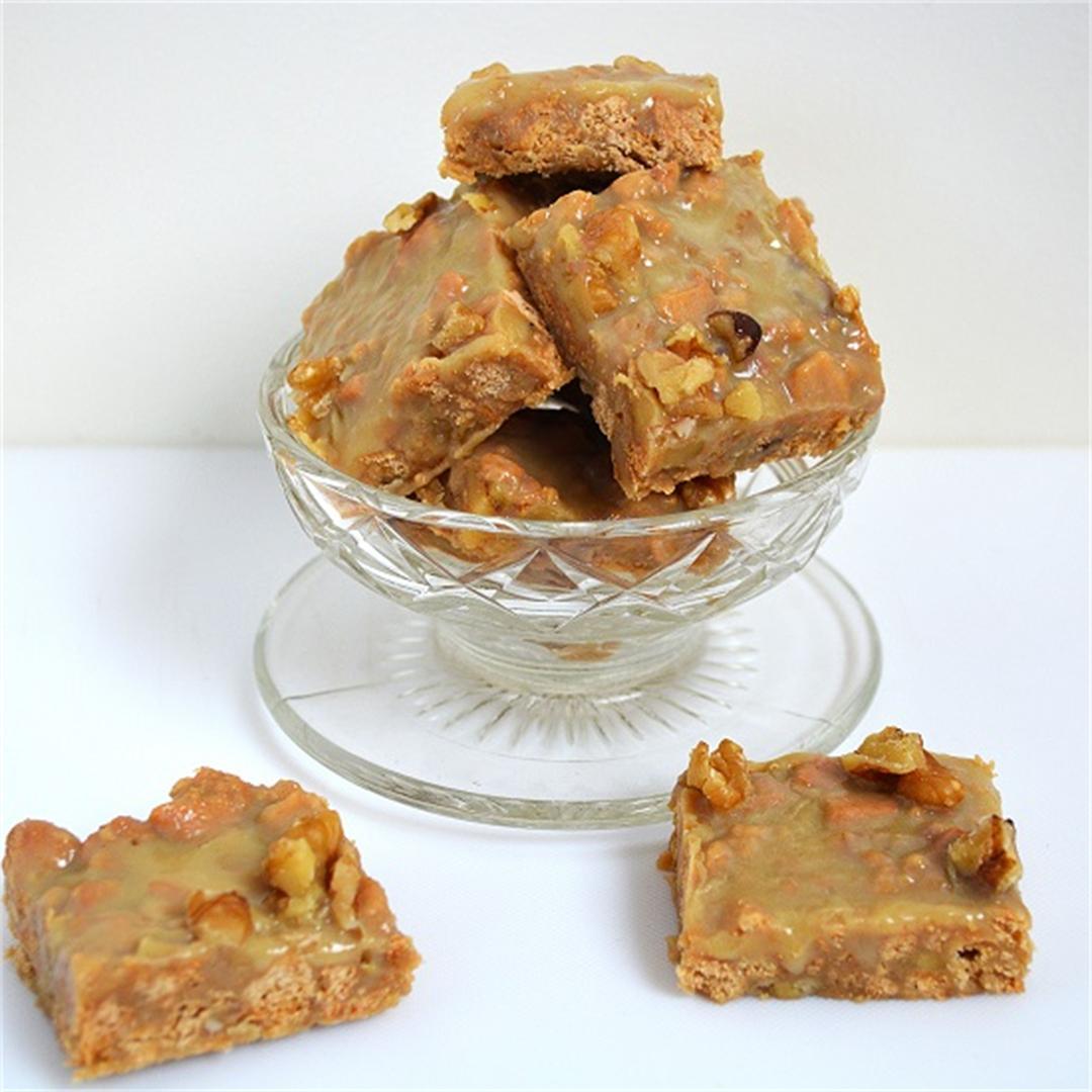 Caramel Walnut Fudge