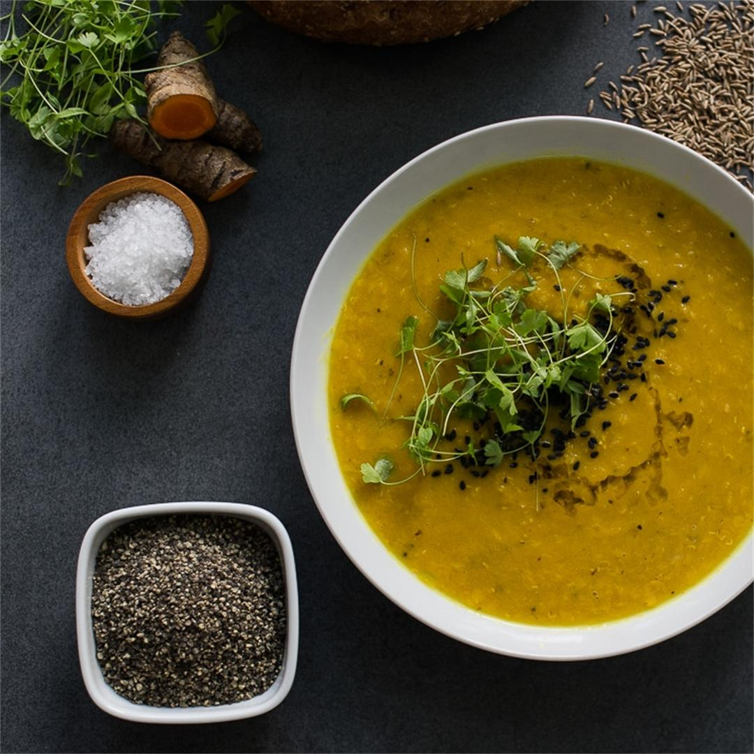 Amazingly Quick and Delicious Lentil Soup