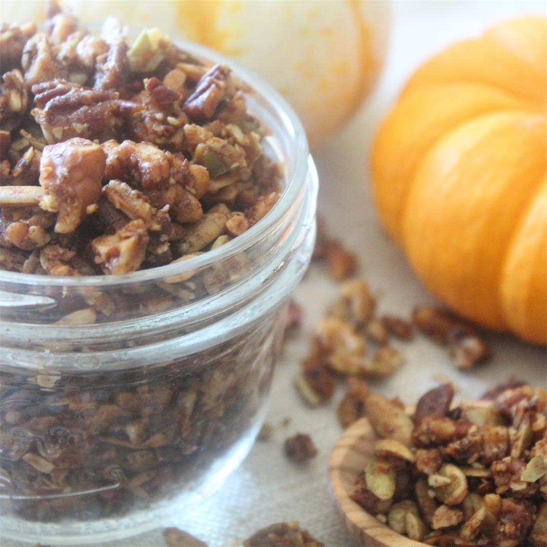 Pumpkin Spice Granola - Gluten Free & Oat Free