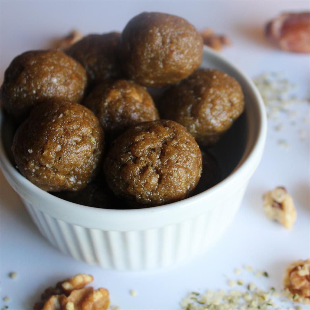 Maca Energy Balls - Gluten Free & Vegan