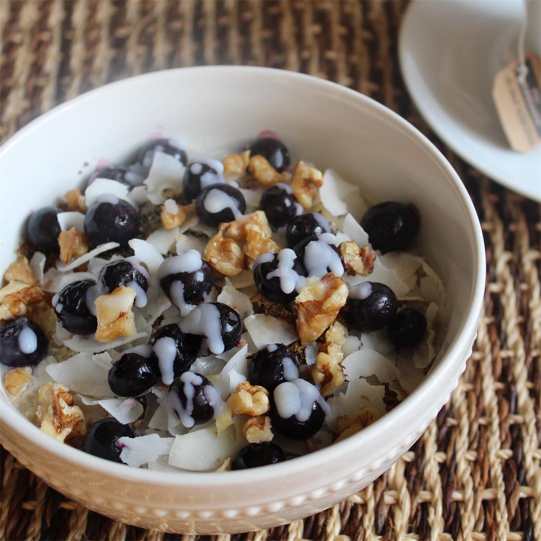 Quinoa Breakfast Bowl - Gluten & Dairy Free