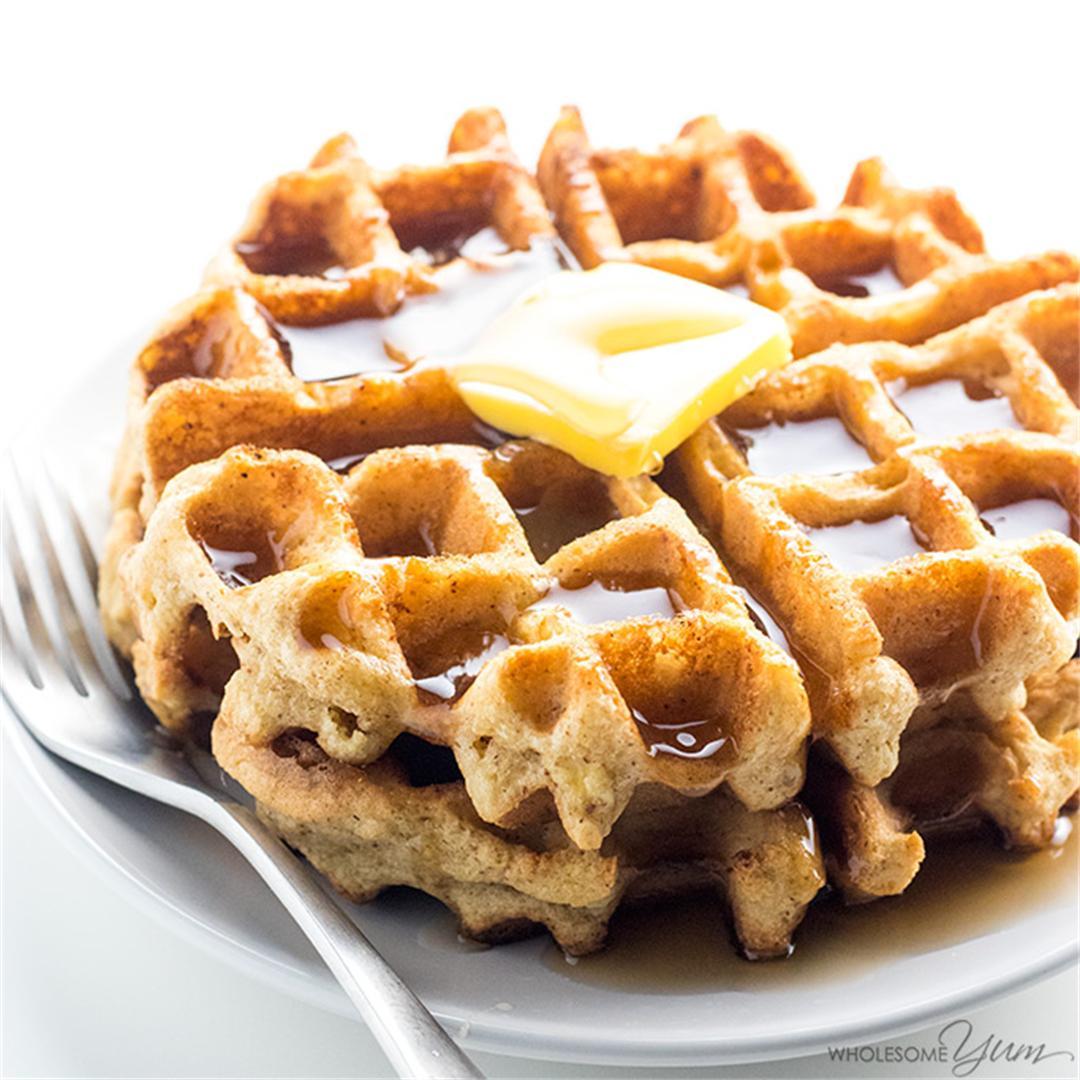 Keto Paleo Almond Flour Waffles Recipe – Gluten Free