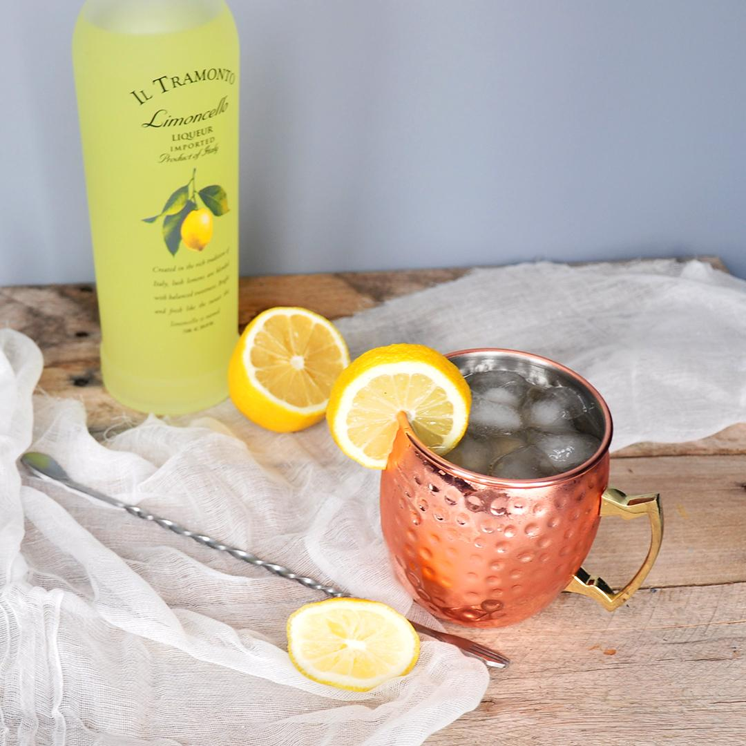 Limoncello and Lavender Moscow Mule