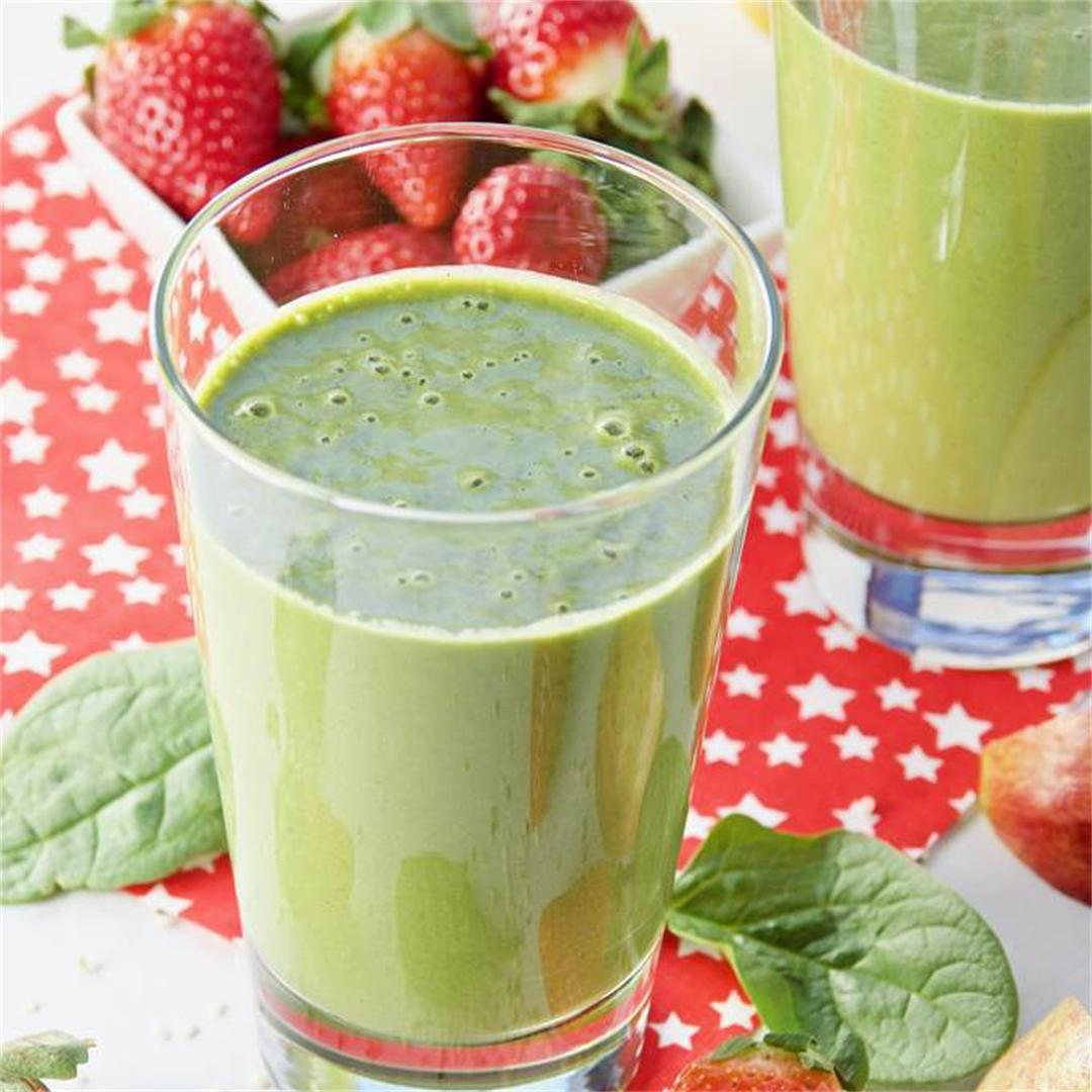 Healthy Hemp Heart Clean Green Smoothie