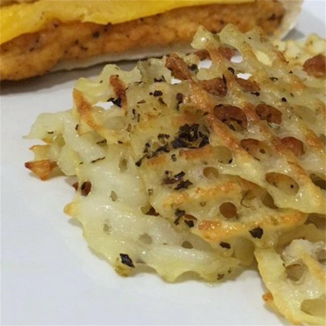 Homemade Waffle Fries