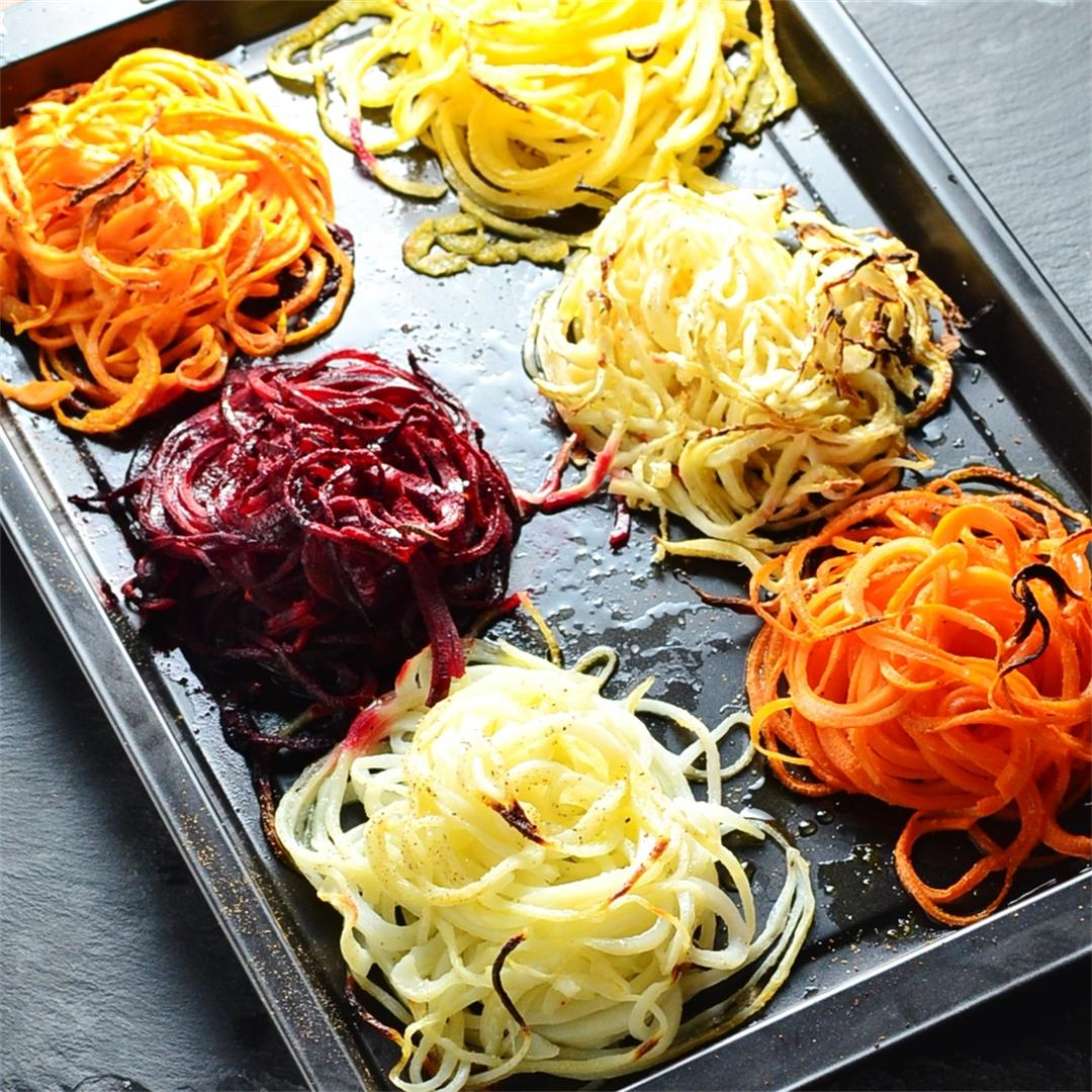 Root Vegetable Nests