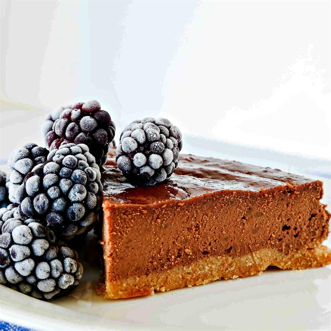Grain-Free Chestnut Chocolate Cake