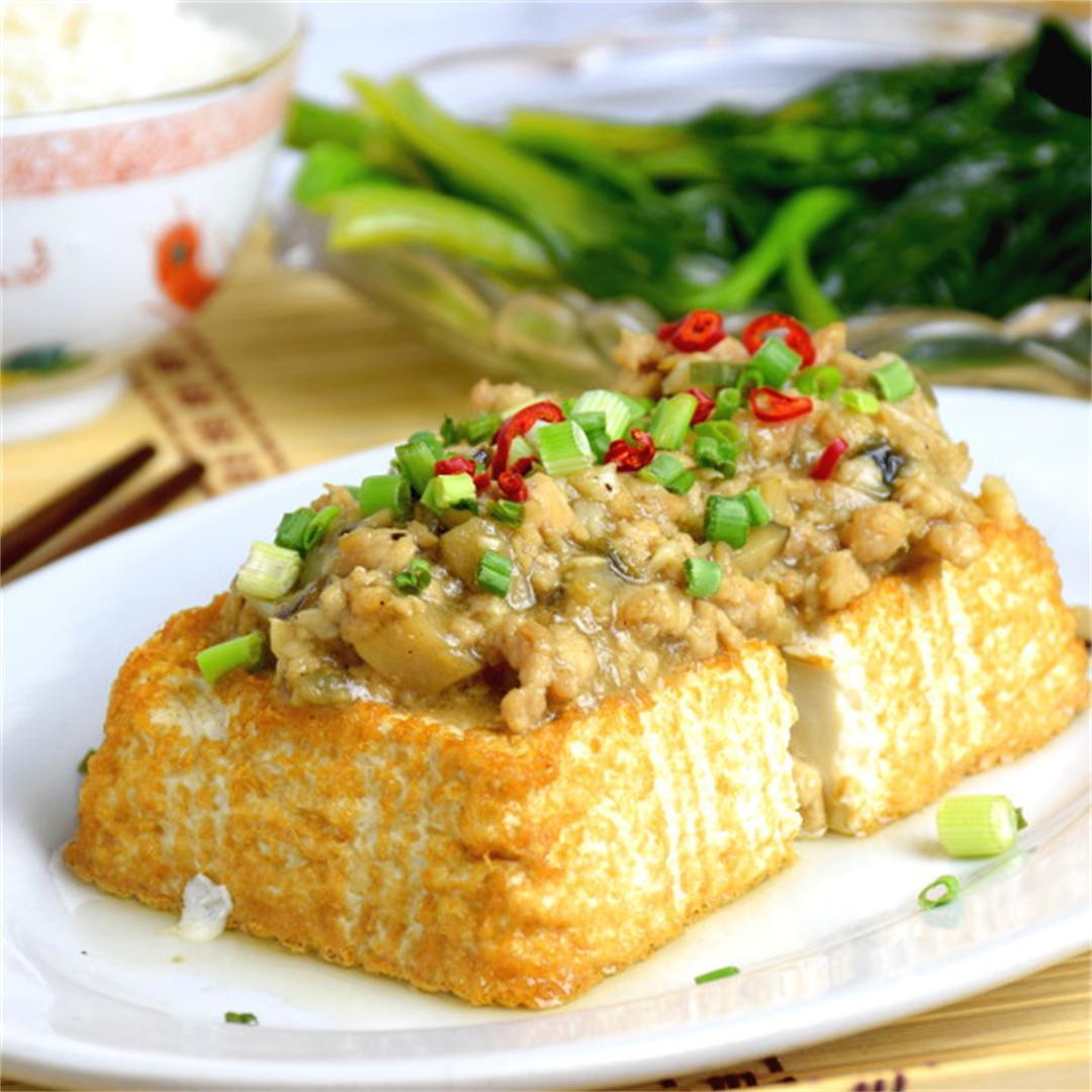 Tofu with minced pork