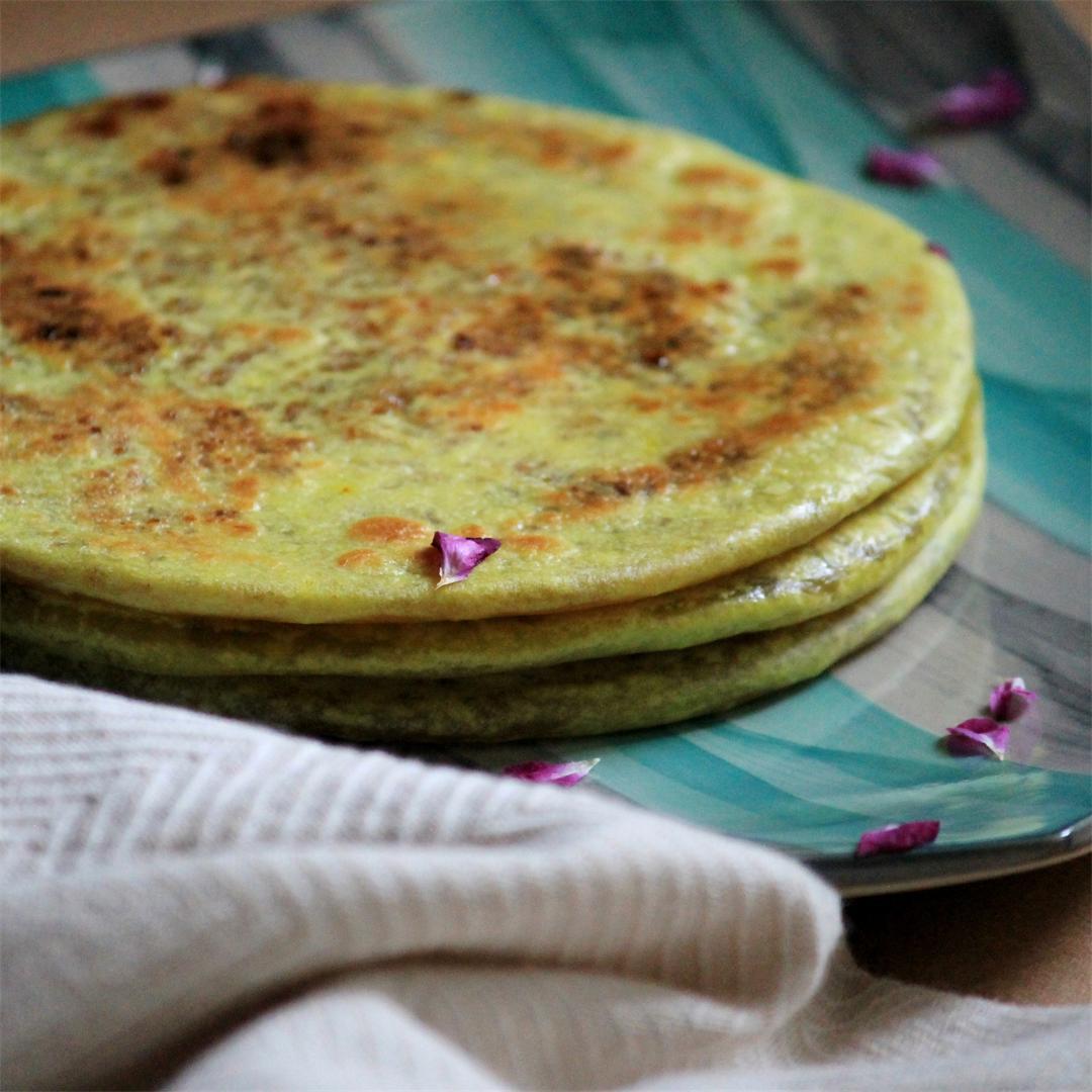 Wheat Flour Puran Poli | Lentil stuffed Indian Sweet Flat Bread