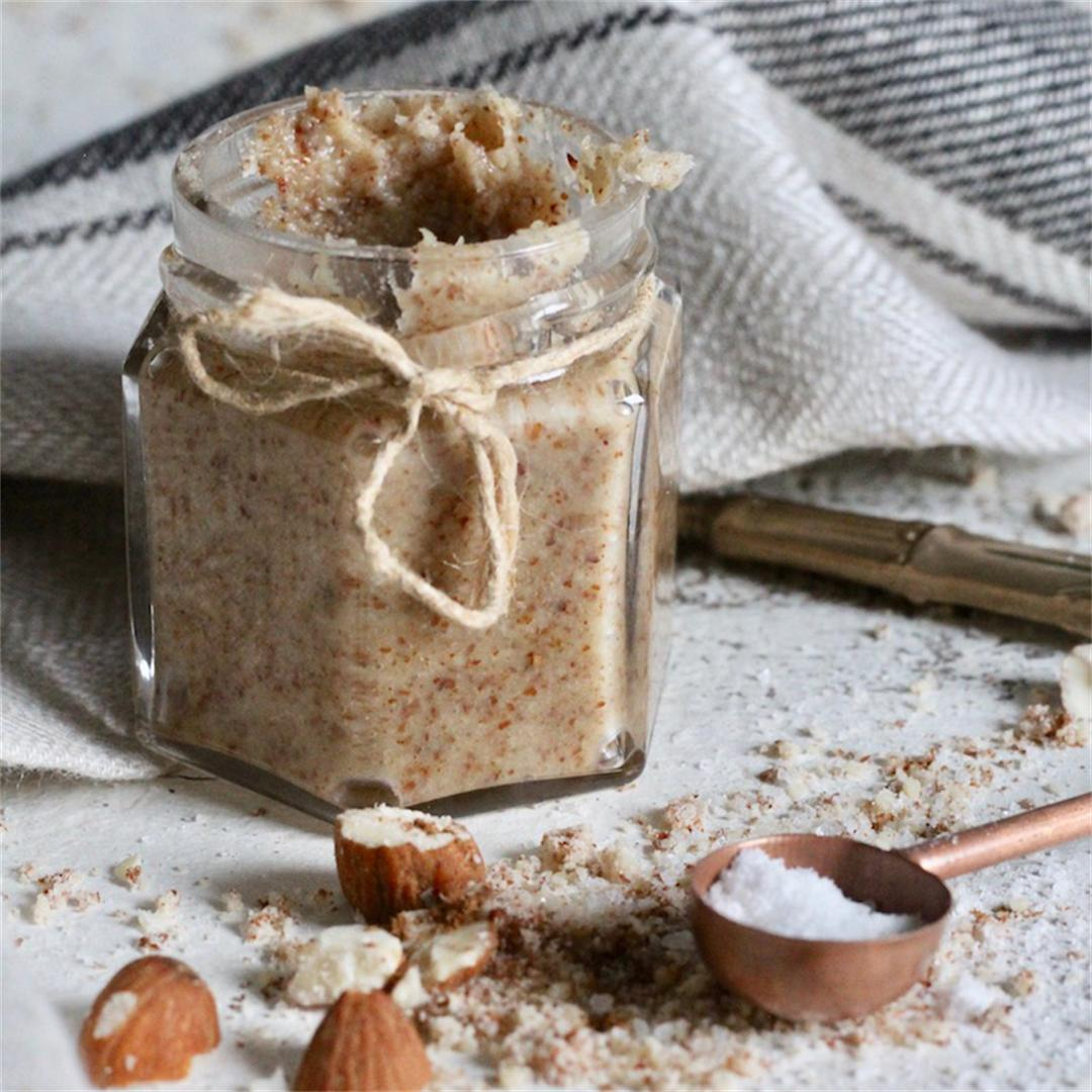 Easy-Peasy Almond Butter