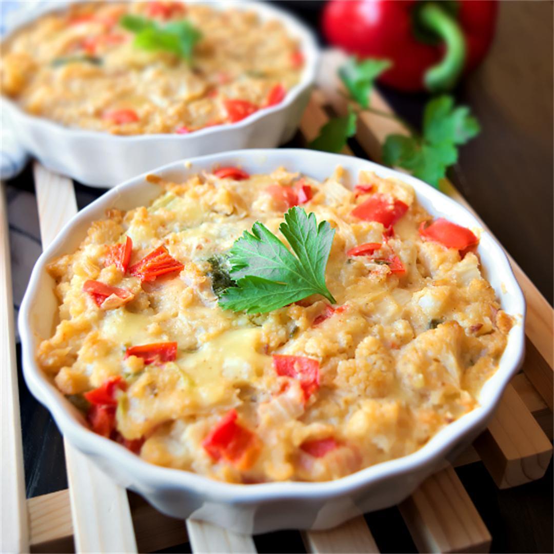 Cauliflower casserole – Cauliflower gratin
