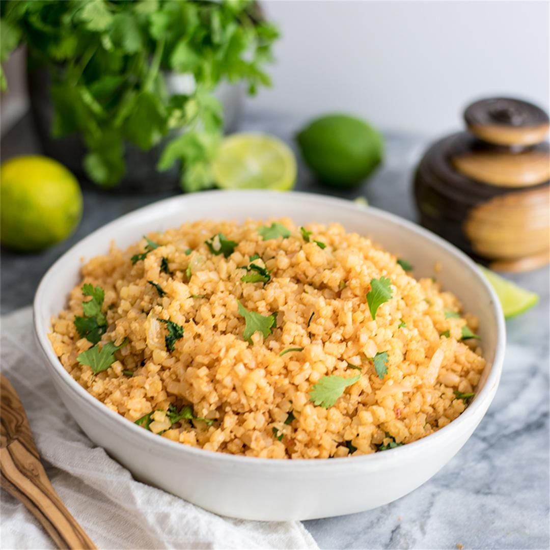 Whole30 Mexican Cauliflower Rice