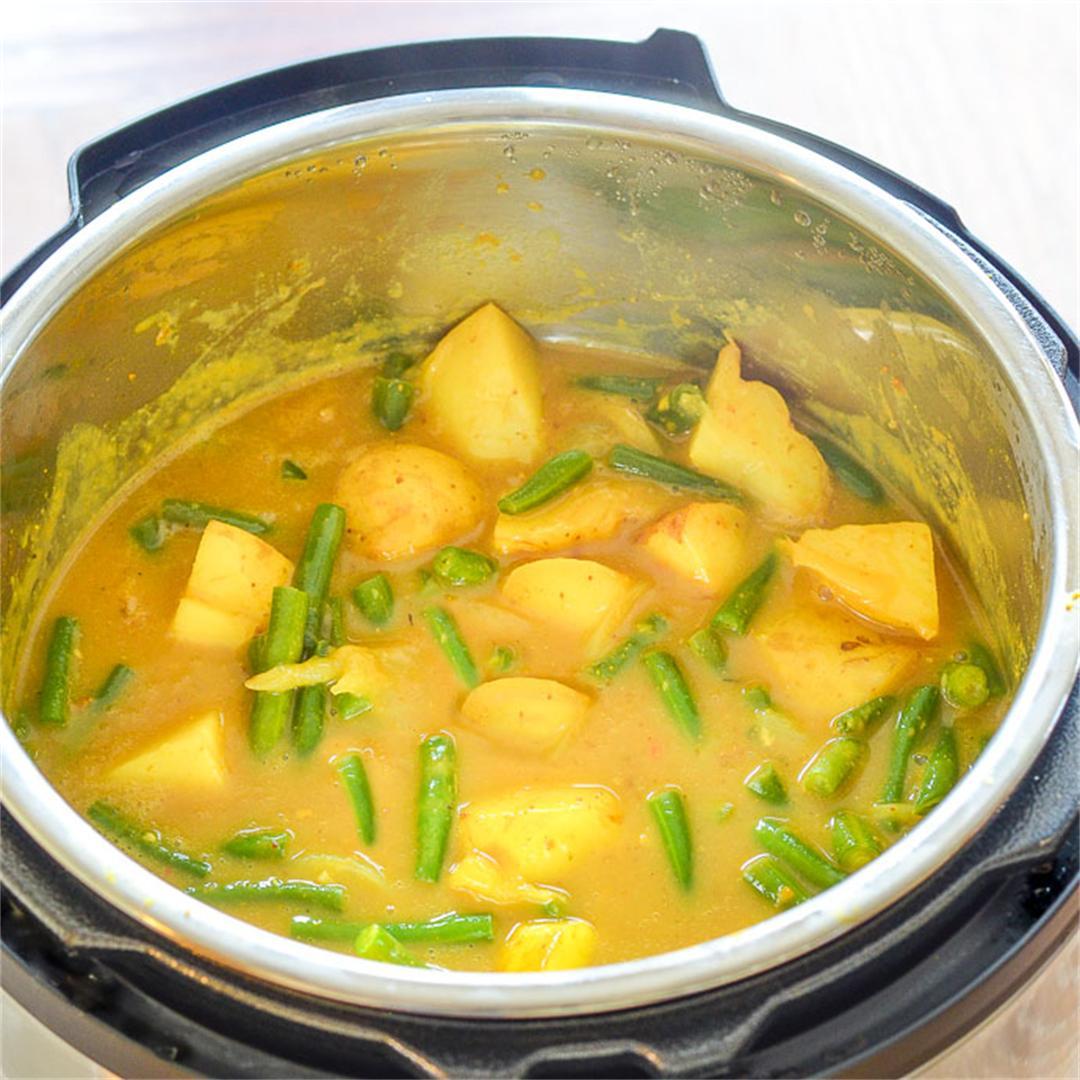 Instant Pot Potato Curry