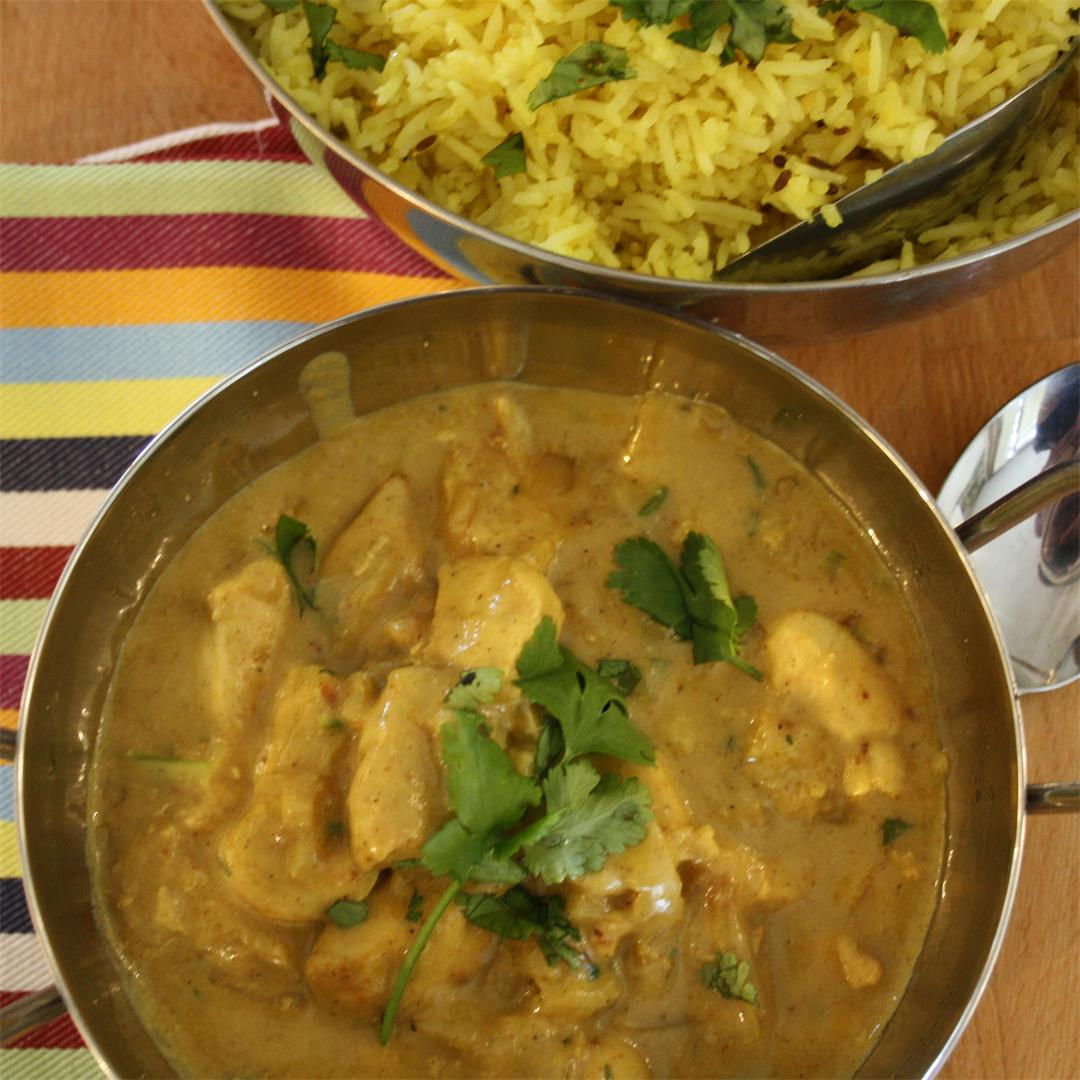 Coconut and Cardamom Chicken