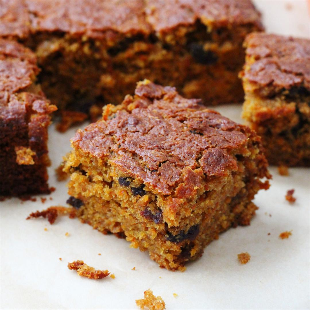 Healthier Carrot Cake - So good you won't miss the icing!