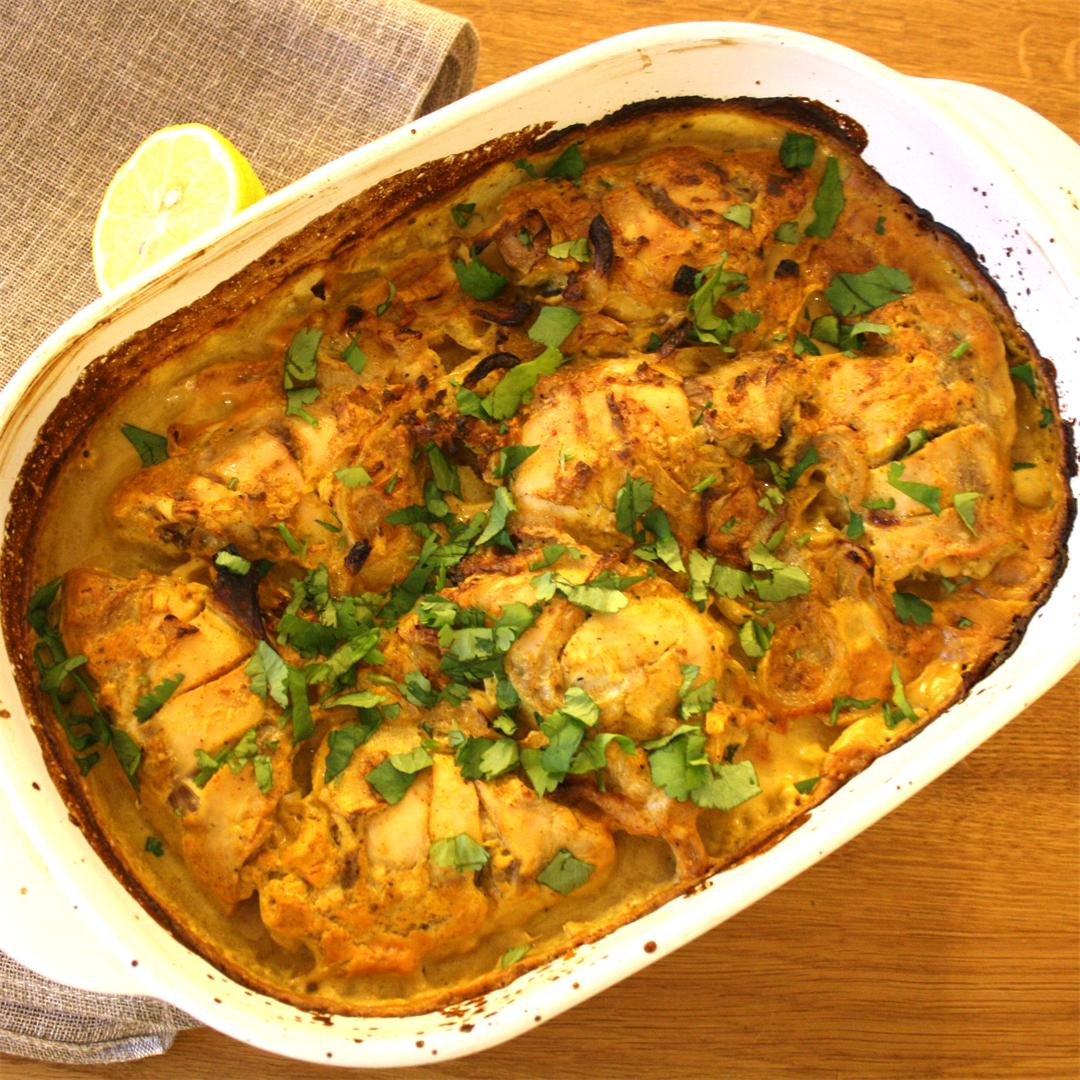 Tandoori Chicken Bake