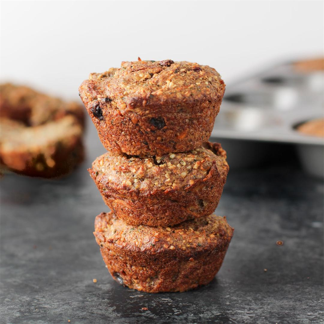 Superseed Morning Glory Muffins