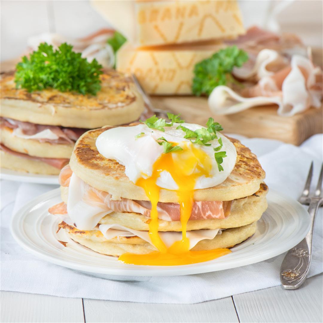 Grana Padano & Potato Pancakes