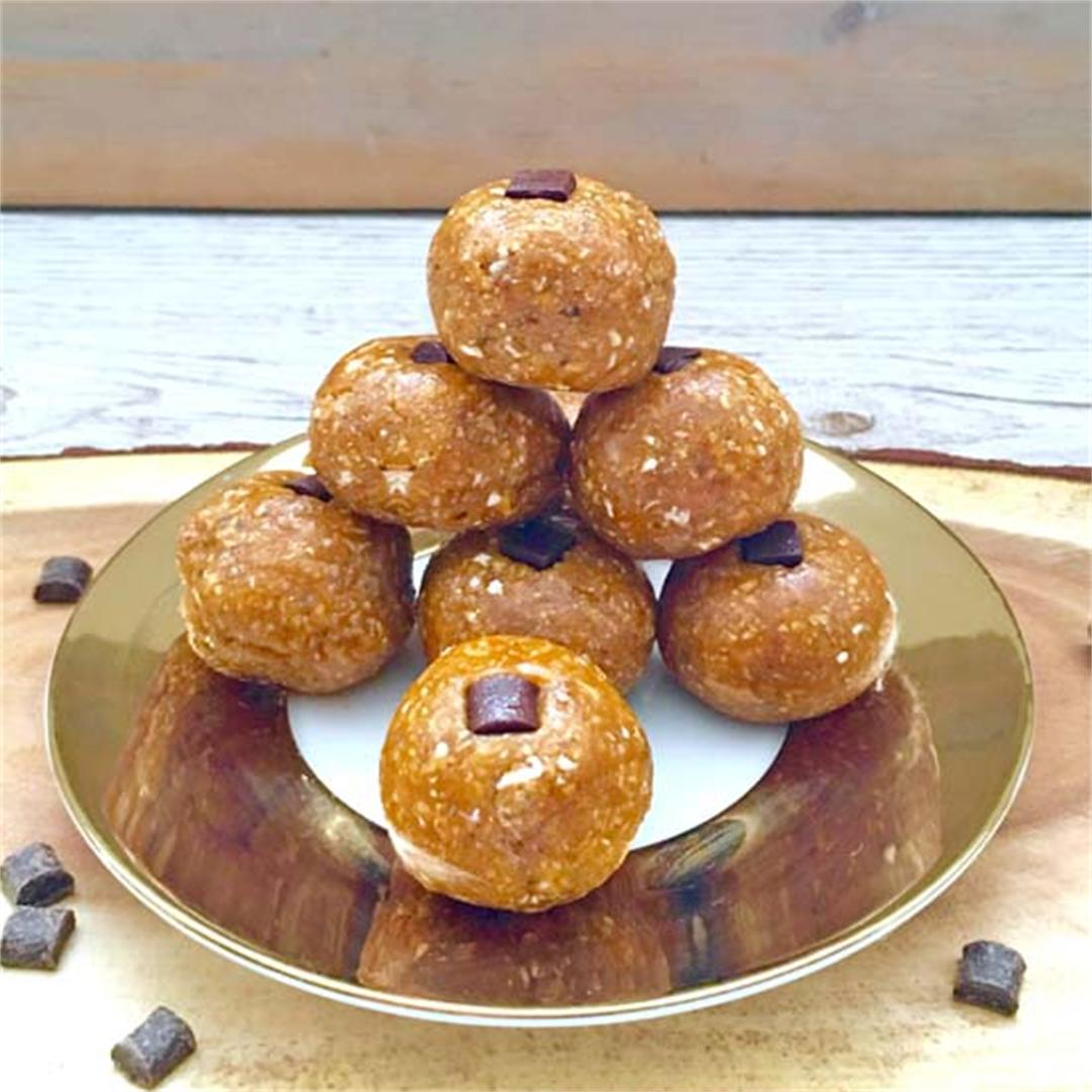 Pumpkin Protein Truffles