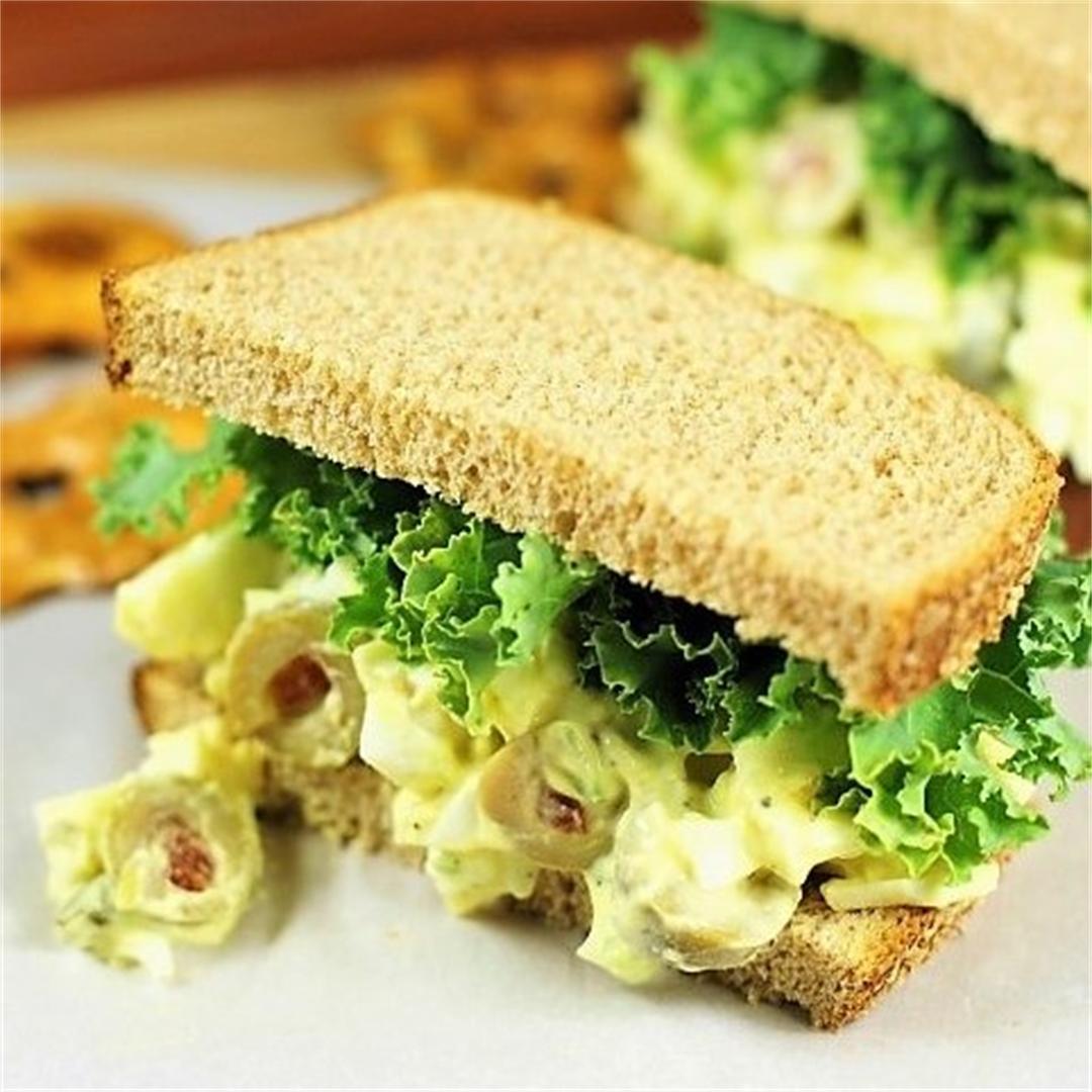 Olive Egg Salad