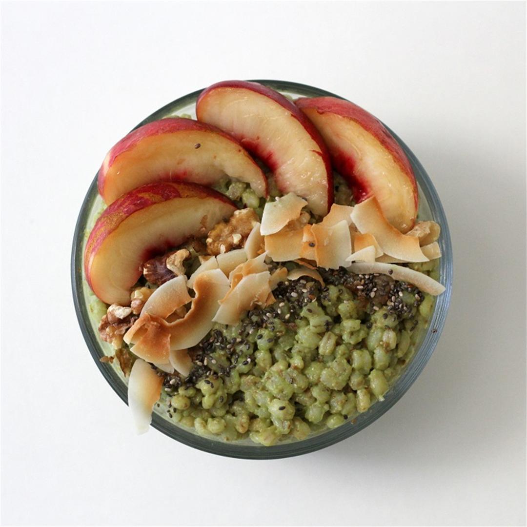 Matcha Coconut Breakfast Bowl