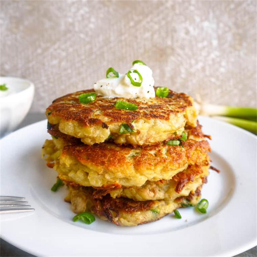 Paleo Whole30 Potato Pancakes (GF)