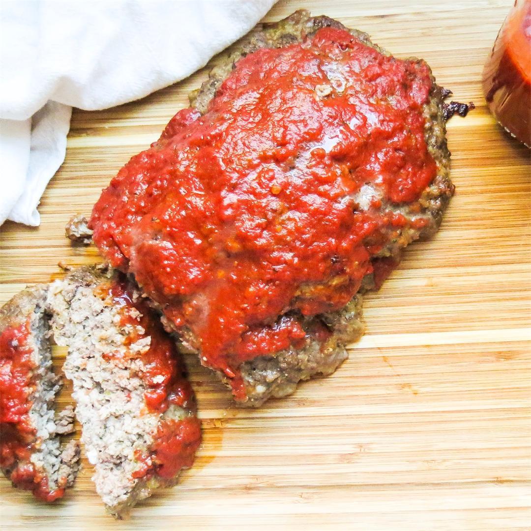Italian Style Meatloaf with Marinara
