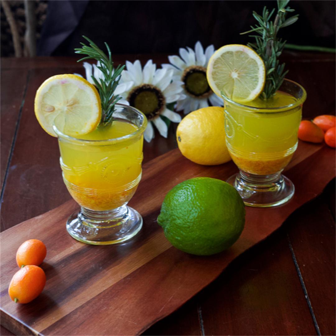 Citrus Turmeric Detox Drink