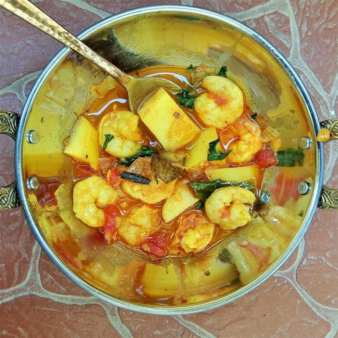 Chingri Macher Kalia - Bengali Prawn Curry
