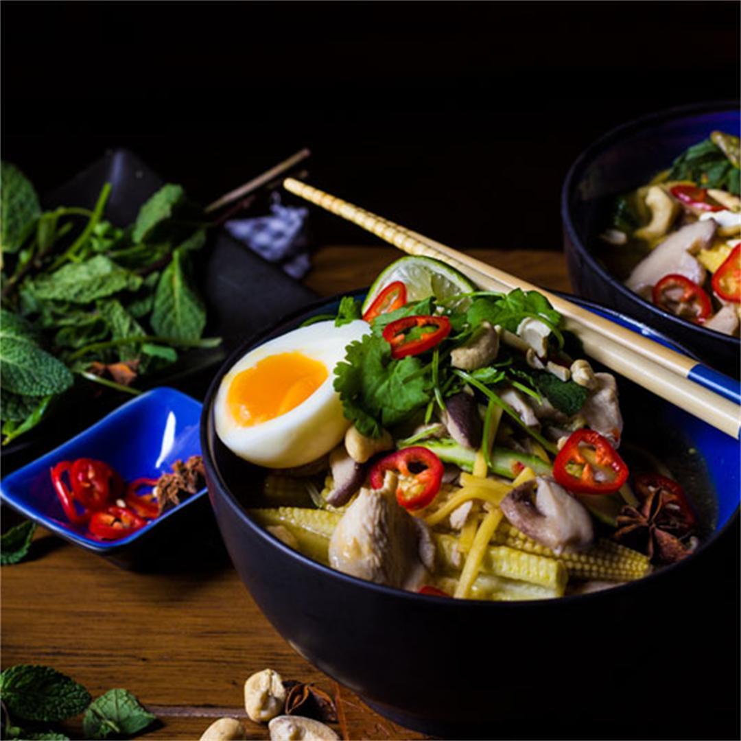Chicken Noodle Vietnamese Pho