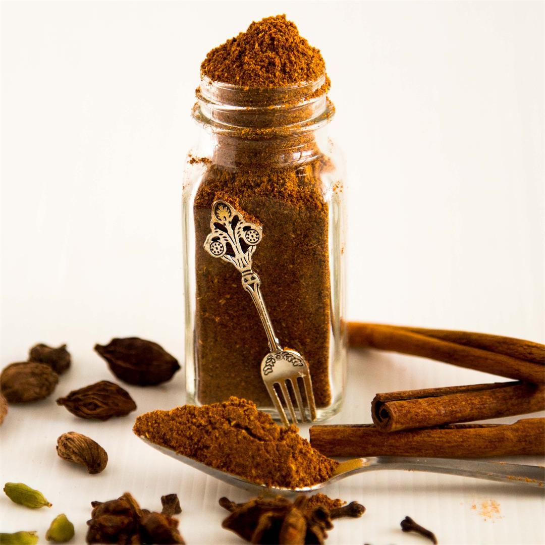 Homemade Garam Masala Spice Mix Recipe