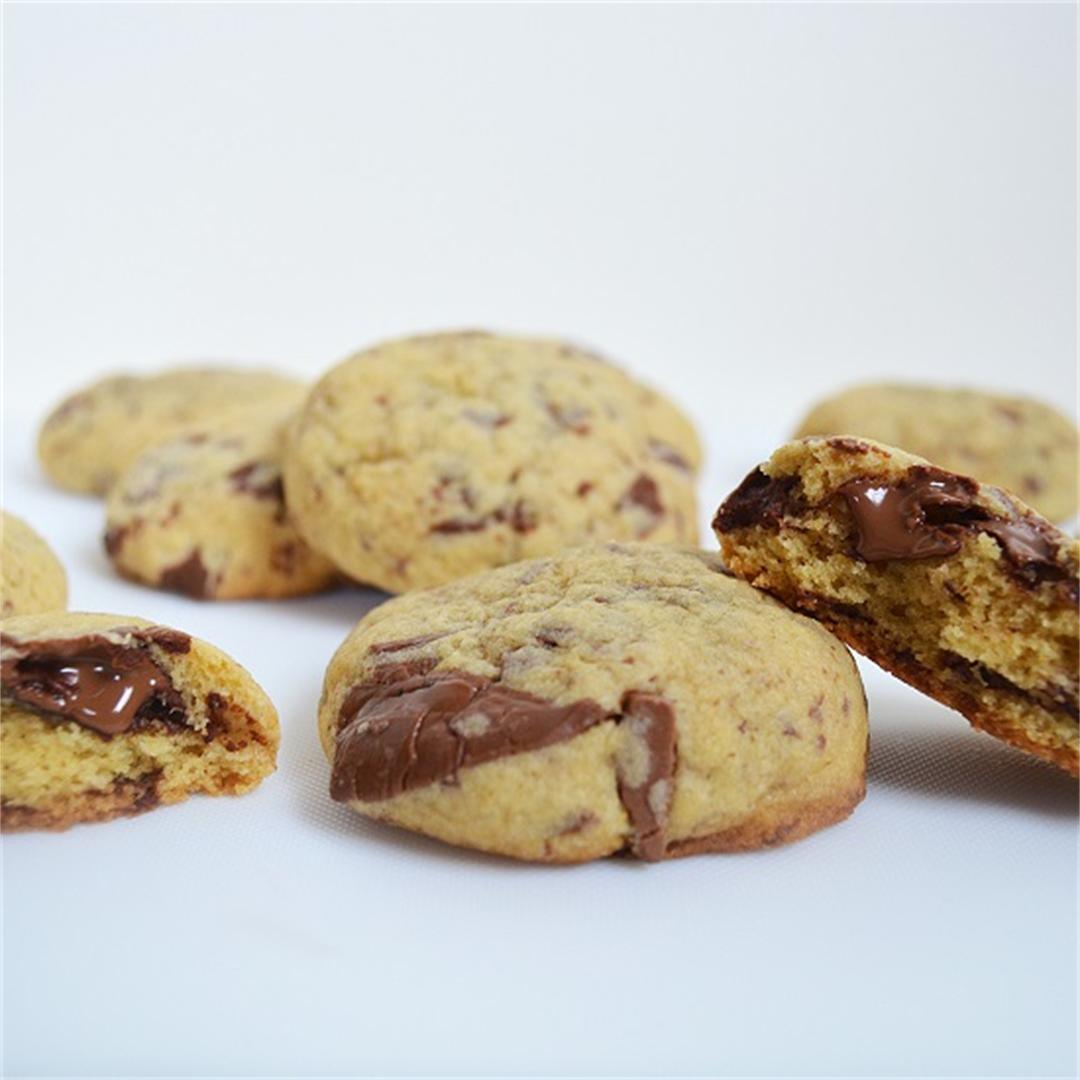Real Chocolate Chocolate Chunk Cookies