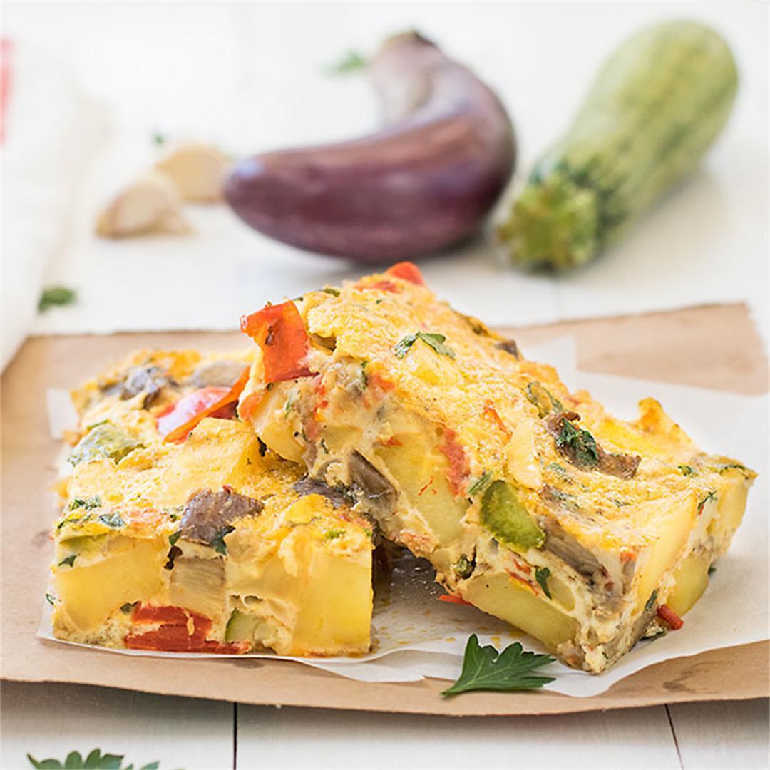 Mediterranean Baked Frittata