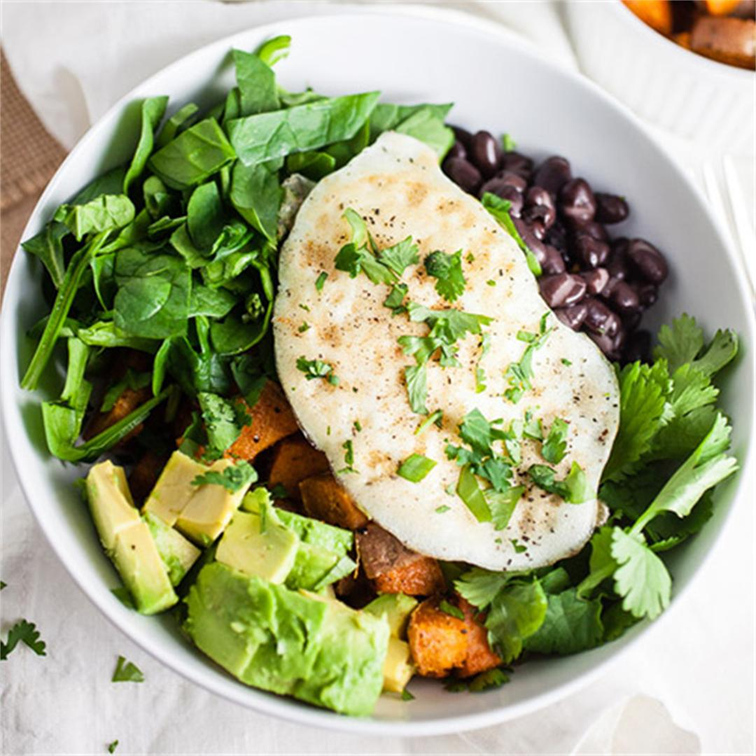 Healthy Sweet Potato Breakfast Bowls