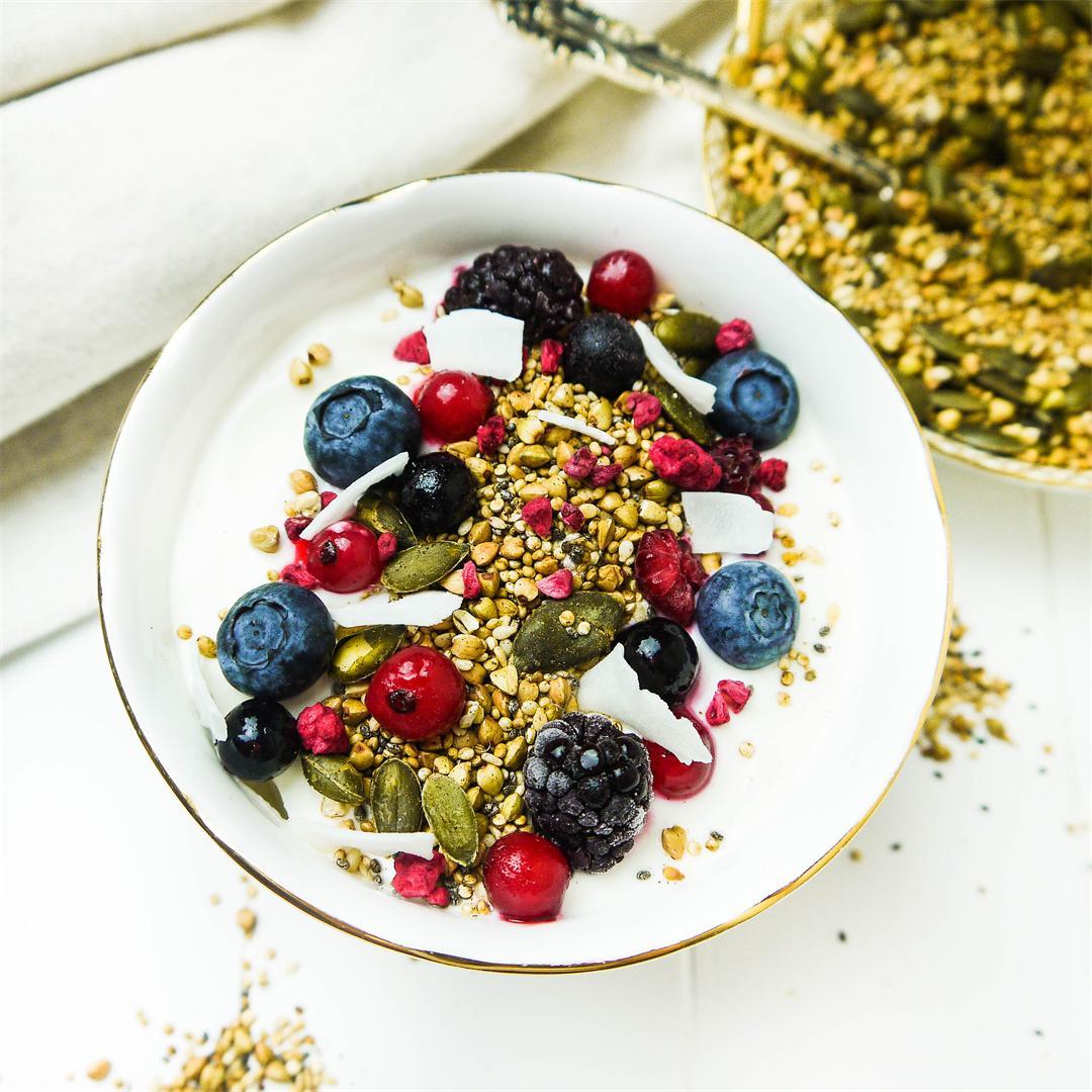 Grain-Free Quinoa & Buckwheat Sprinkle