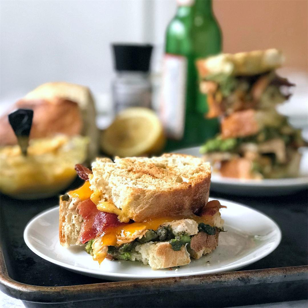 Chipotle Chicken Panini (Panera Bread Copycat)