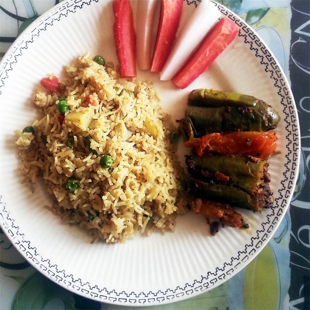 Veg Pulao Rice