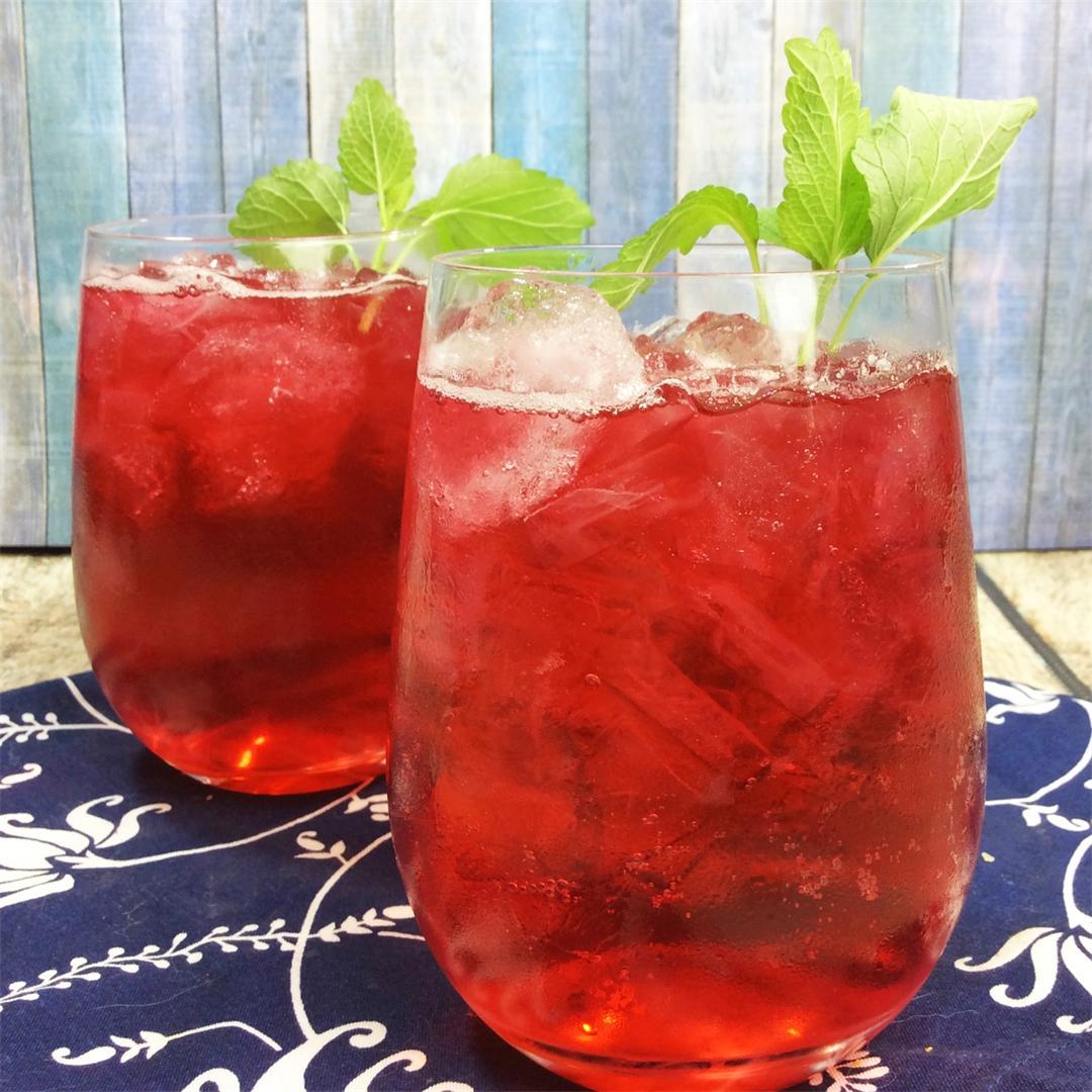 Passion Fruit Iced Tea Lemonade