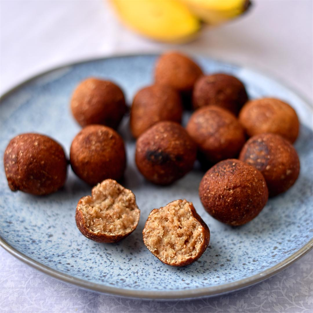 Keralan-style banana fritters