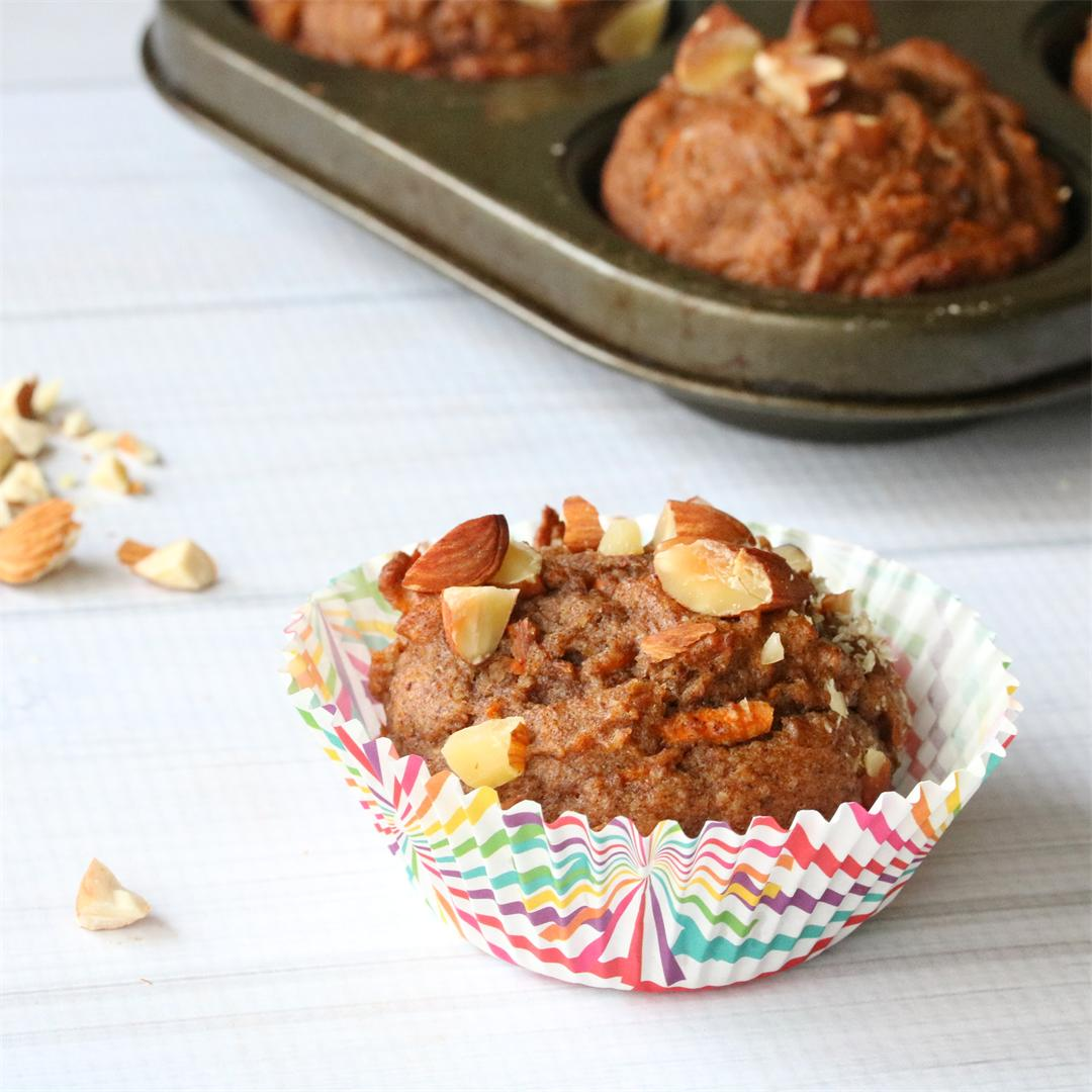 Dairy Free Carrot Spice Muffins