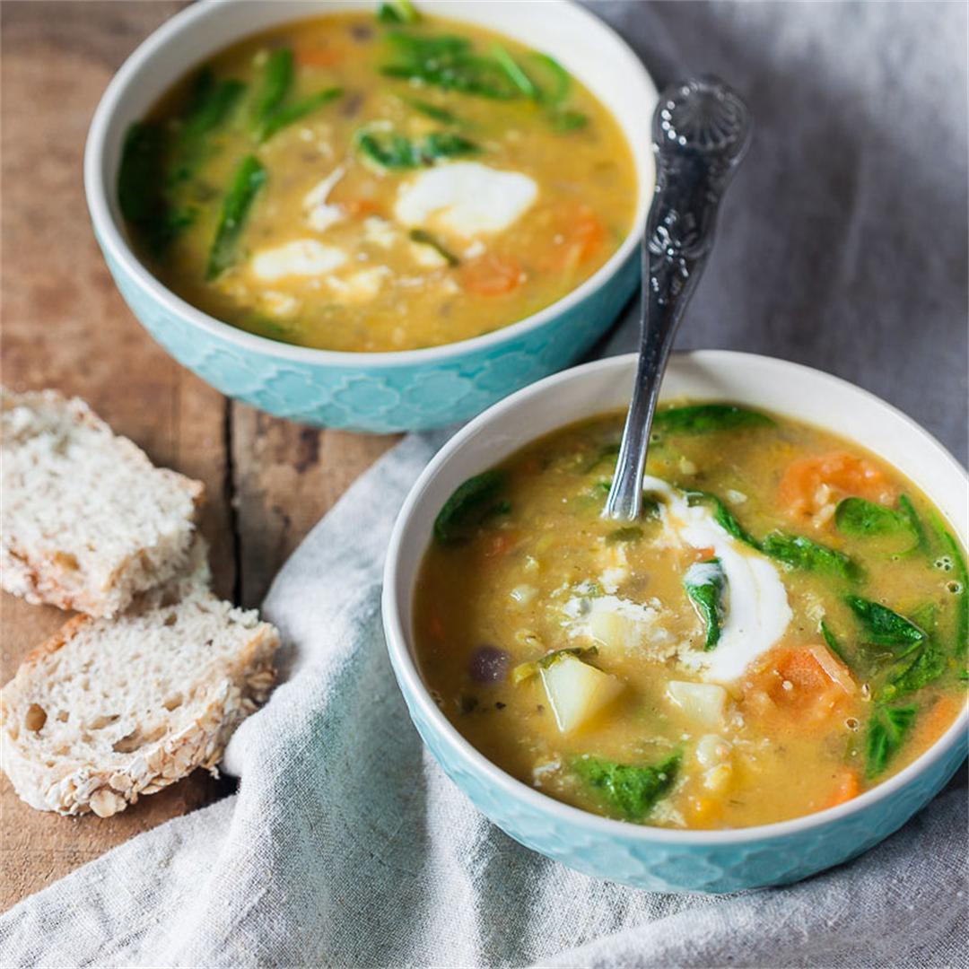 Vegan Creamy Lentil Soup