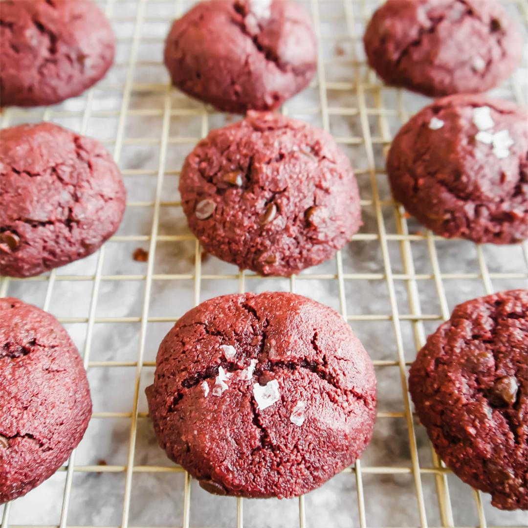 Paleo Red Velvet Cookies (GF)